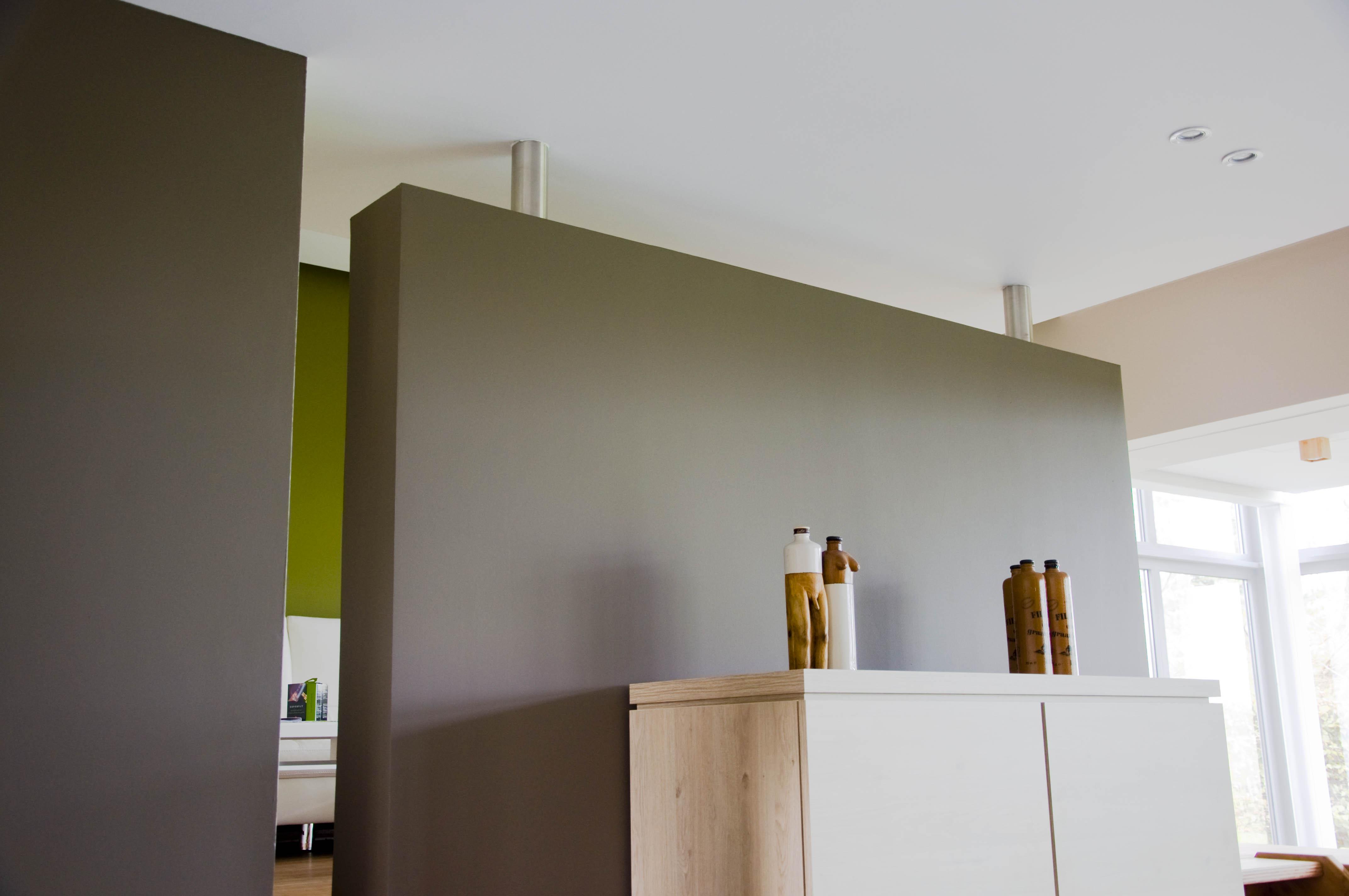 Scheidingswand Voor Slaapkamer : Artigyp : scheidingswand in privé woning in lint